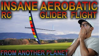 INSANE AEROBATICS - RC HIGH PERFORMANCE electric sailplane - 4K PURE SOUND - Explorer BF