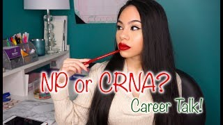 WHY I CHOSE NP INSTEAD OF CRNA | MY STORY + DECISIONS!