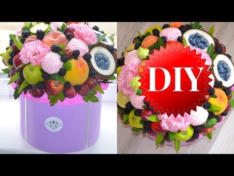 Как сделать шляпную коробку для сладкого букета / пошаговое видео