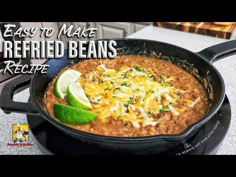 Easy Refried Beans | Dip or Side Dish