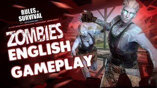 RULES OF SURVIVAL - ZOMBIE MODE ( ENGLISH )