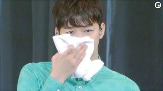 150723 You're 떼창 이벤트에 감동한 박유천 YUCHUN Crying ユチョン号泣 (한글 자막)