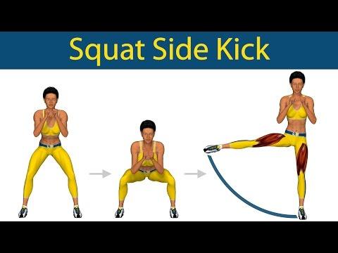 Perfect Legs Series: Squat side kick