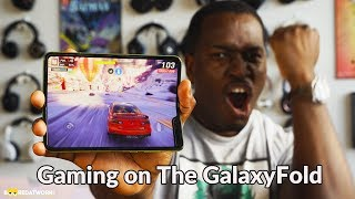 Samsung Galaxy Fold Gaming: PubG Mobile, Asphalt 9!