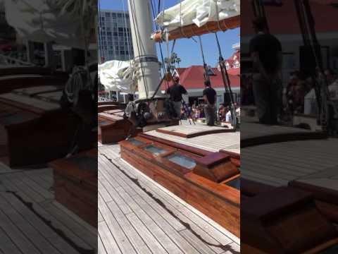 Schooner America at Hotel Del Coronado Video