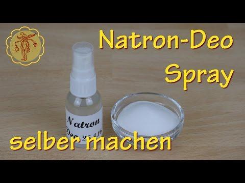 Natron-Deo-Spray selber machen