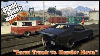 GTA 5 ROLEPLAY - FARM TRUCK VS MURDER NOVA - EP. 113 - CIV