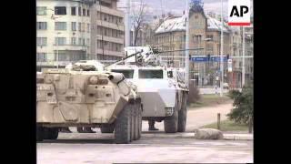 Bosnia: Sarajevo: Serb Snipers Target Civilians - 1995