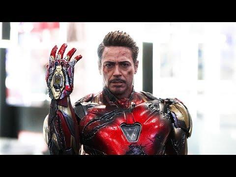 First Look! I Am Iron Man Snap -Hot Toys 1/6th Scale Iron Man Mark 85 (BD) & Hulk
