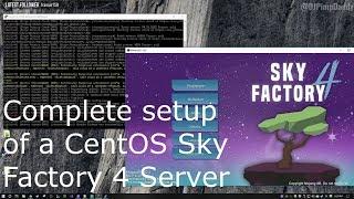 skyfactory 4 server setup atlauncher - TH-Clip