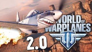 World of Warplanes - КРУТО! ОБЗОР ОТ БРЕЙНА