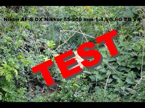 Nikon D5200 Foto - Video Test - Objektiv AF-S Nikkor 55-300mm