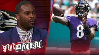 Michael Vick explains what impressed him about Lamar Jackson's big game | NFL | SPEAK FOR YOURSELF