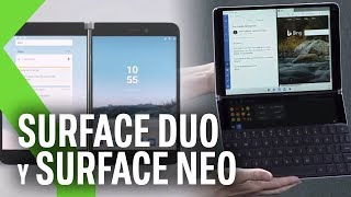 SURFACE NEO y SURFACE DUO: Microsoft sorprende con un MÓVIL ANDROID y PANTALLAS DOBLES