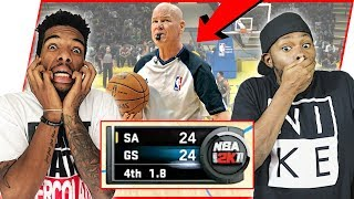 CAN AN NBA GAME REALLY END LIKE THIS!? - NBA 2K11 Gameplay | #ThrowbackThursday