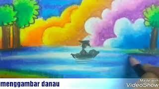 Cara Mewarnai Gradasi Langit Dengan Crayon मफत ऑनलइन