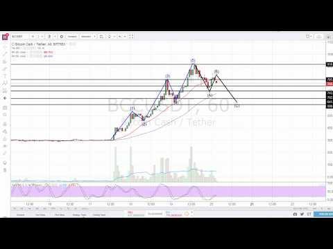 Bitcoin Cash technical analysis – Elliott Wave tutorial (Trading psychology)