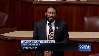 """Rep. Al Green: """"Impeachment will be voted on before Christmas."""" (C-SPAN)"""