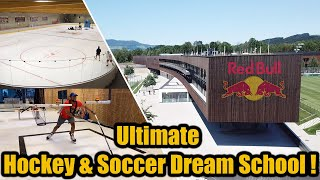 Red Bull Ice Hockey Dream School !  - Ice Hockey & Soccer Academy