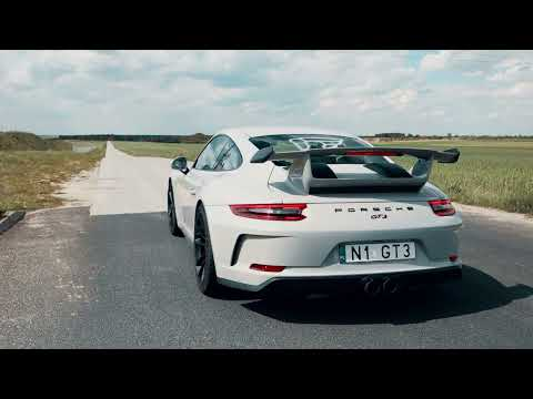 Porsche 991.2 GT3 w/ FULL iPE Titanium Exhaust System