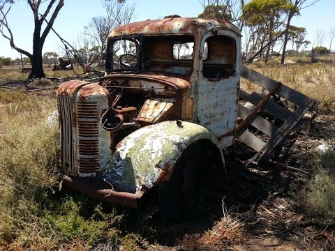 Old Abandoned Vehicles, Bush Tracks, Rusty Relics and Dirty Old Bottles