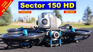 Impressive! HGLRC Sector 150 HD - A CineWhoop 6S FPV Drone - REVIEW - Insta360 GO
