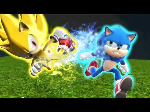 The last race gave a depiction of what a race would look like between Modern Sonic and Movie Sonic if they only used their natural abilities. But what if it ...