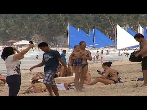 Paggawa ng sand art sa Boracay, hinigpitan