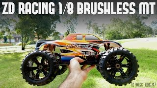 ZD Racing 1/8 Monster Truck UNDER $250 - First Bash