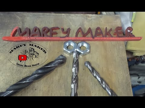 Tutorial Come affilare una punta per ferro manualmente fai da te Homemade sharpen an iron tip