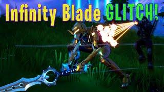 I Don't Like The Infinity Blade! 🗡️ WEAPON GLITCH! w/ Hellboy484 ⛏️ Fortnite Battle Royale