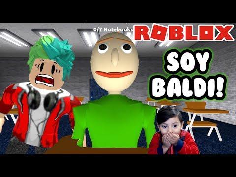 Soy Baldi | Baldi´s Basics The School House | Juegos Roblox