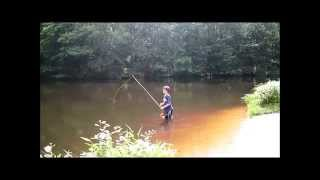 Fly Fishing: How to false cast