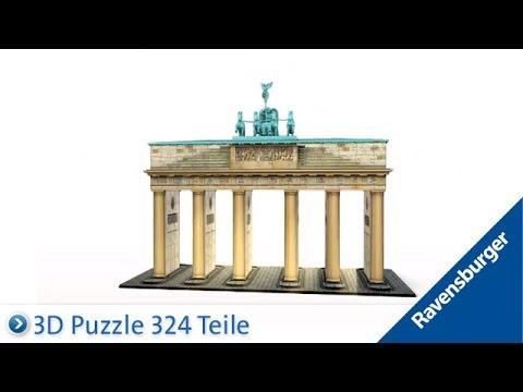 Ravensburger 3D Puzzle: Brandenburger Tor - Berlin