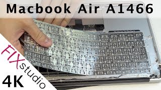 Macbook Air A1466 - Keyboard Replacement [4k]