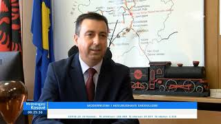 Mirëmëngjesi Kosovë - Kronikë - Modernizimi i hekurudhave shekullore