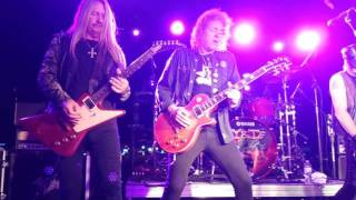 """Y&T """"I'll Keep On Believin"""" Houston April 13, 2017"""
