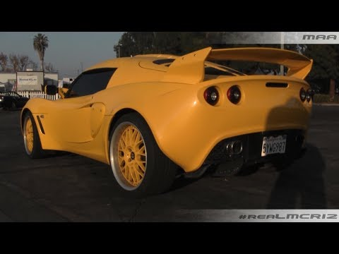 Lotus Exige on Custom Wheels