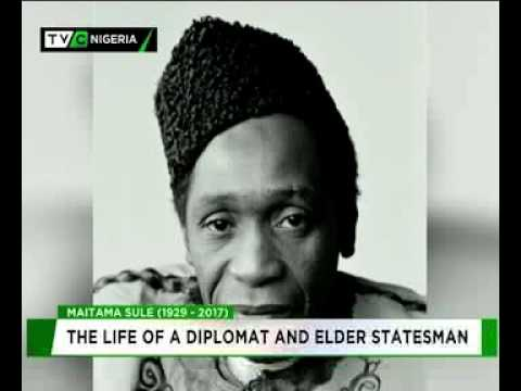 Maitama Sule (1929 - 2017) : The life of a diplomat and elder statesman