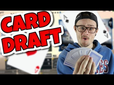 BRAND NEW DRAFT GAME!! 52 CARD ROULETTE CHALLENGE!! Madden 18 Draft