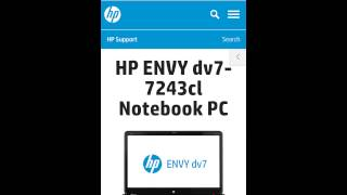 HP driver download. HP dv7. HP envy. HP review.