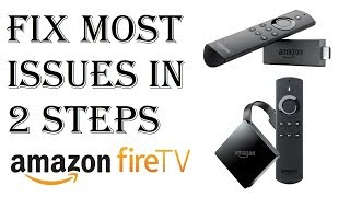 How To Fix Almost All Amazon Fire Stick TV Issues/Problems in Just 2 Steps - Fire TV Not Working