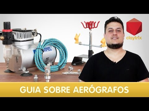 Guia de aerógrafo para iniciantes | Claytrix