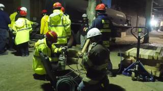 Newark Fire Division hosts structural collapse training