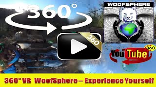 360 Videos | VR | WooFSphere FurWheeling the C&O Canal at Bonds Landing in 360º Timelapsed