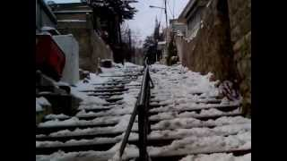 preview picture of video 'ثلجة عام 2012 صويلح . كفاح Photographed snow IN Sweileh'