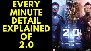 EVERY MINUTE DETAIL EXPLAINED OF 2.0 TEASER || EXPLAINED IN HINDI |||