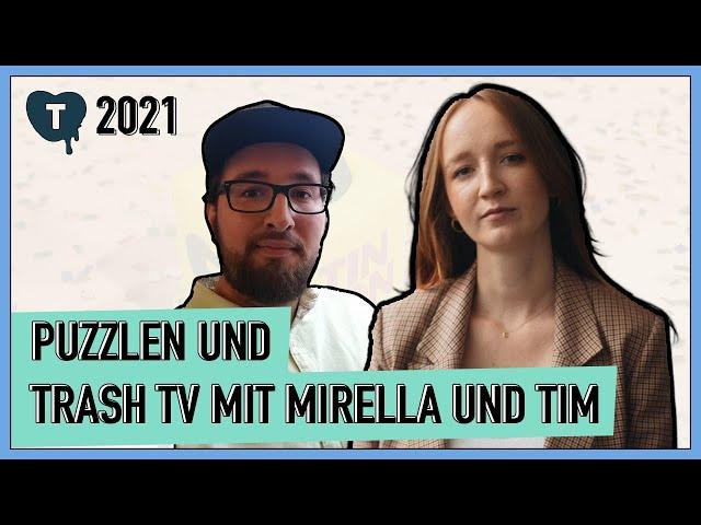 Vorschaubild zur Session 'Auf ein Puzzle mit Mirella Precek und Tim Heinke'