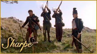 Sharpe & His Men Pay Respect To Rifleman Perkins   Sharpe