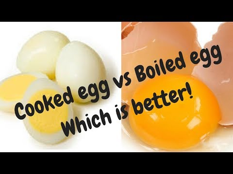 ಮೊಟ್ಟೆ ವಿಷ್ಯ. Cooked Vs Raw eggs- Which one is better?